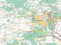 Топографическая карта м 1:100 000