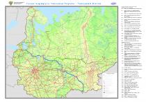 Схема маршрута Западная Европа - Западный Китай