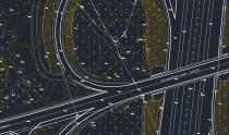 рис.4 Топоплан в AutoCAD