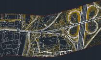 рис.4.1 Топоплан в AutoCAD